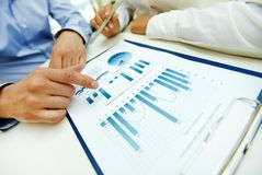 Business analysis Royalty Free Stock Photography