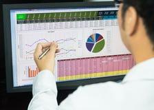 Business analysis Stock Photography