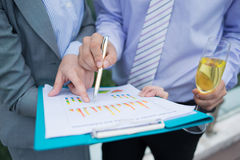 Business analysis Stock Images