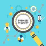 Business analysis concept illustration Stock Photo