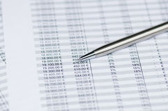 Business analysis Royalty Free Stock Photos