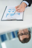 Business analysis Royalty Free Stock Photos