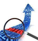 Business analysis 2016 Stock Photos