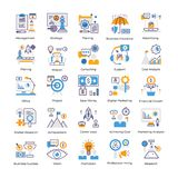 Business Analysis Flat Icons Pack vector illustration