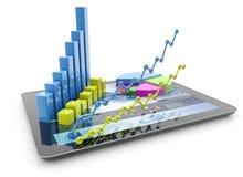 Business analysis Royalty Free Stock Image