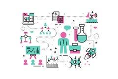 Business analysis illustration Stock Photo