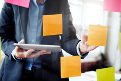 Business analysis planing and  solution objective strategy conce Stock Photo