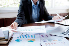 Business analysis planing and  solution objective strategy conce Stock Photos