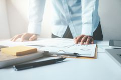 Business analysis planing and strategy concept. Stock Photo