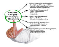 Business Analysis Planning Royalty Free Stock Images