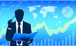 Business analyst Stock Image