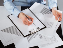 Business analyst Royalty Free Stock Photography