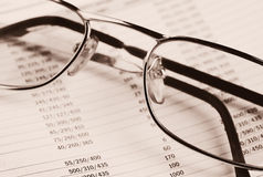 Business analytic concept. Financial concept Stock Images