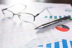 Business analytic research concept Stock Image