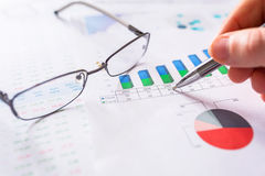 Business analytic research concept Royalty Free Stock Image