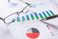 Business analytic research concept Stock Photo