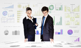 Business analytics Stock Photography
