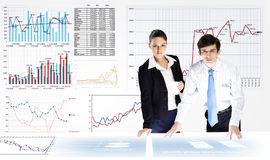 Business analytics Royalty Free Stock Photos