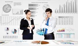 Business analytics Royalty Free Stock Photos