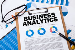 Business analytics concept Royalty Free Stock Image
