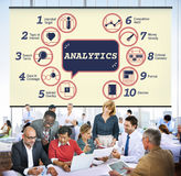 Business Analytics Strategy Methods Tactics Graphic Concept Royalty Free Stock Photo