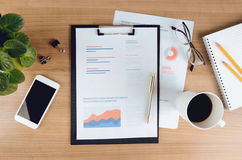 Business analytics and strategy Stock Images