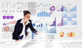 Business analytics Stock Image