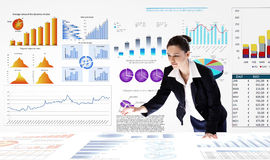 Business analytics Stock Photo