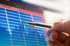 Business analyze Stock Photos