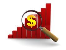 Business analyzing Royalty Free Stock Photos