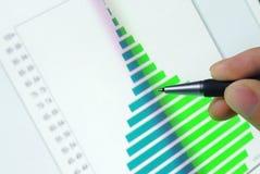 Business analyzing Royalty Free Stock Image