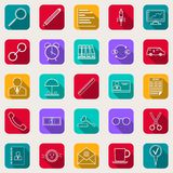 Business And Finance Vector Icons Royalty Free Stock Photography