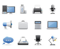 Free Business And Office Icons Royalty Free Stock Images - 10985119