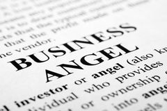 Business angel Stock Image