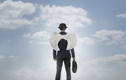 Business angel Stock Photo