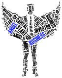 Business angel or funds gaining concept. Royalty Free Stock Photos