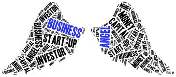 Business angel or funds gaining concept. Stock Photography
