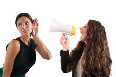 Business announcement Royalty Free Stock Photography