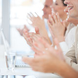 Business Applause Royalty Free Stock Photography