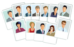 Business application pictures Stock Images