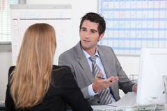 Business appointment Royalty Free Stock Photos