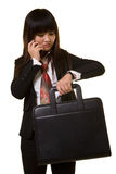 Business appointment royalty free stock image
