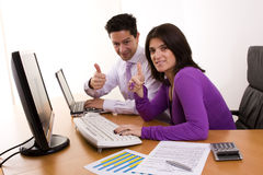 Business aproved Royalty Free Stock Image