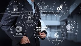 Business Architect and his modern house royalty free stock images