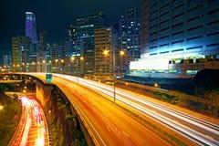 Business area of hongkong Stock Photo