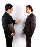 Business Argument Royalty Free Stock Photos