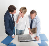 Business argument Stock Images