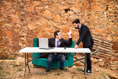 Business argument Royalty Free Stock Image