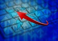 Business arrow Stock Photography