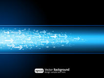 Business arrow site background royalty free illustration